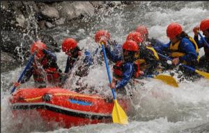 Rafting et enterrement vie célibataire : faites le plein de sensation !