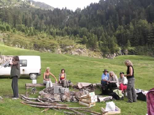Enterrement de vie de garcon original #3 – A la montagne en été