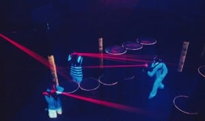 Classique des enterrements de vie de célibat : le laser game