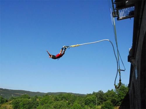 Activité – saut à l'élastique
